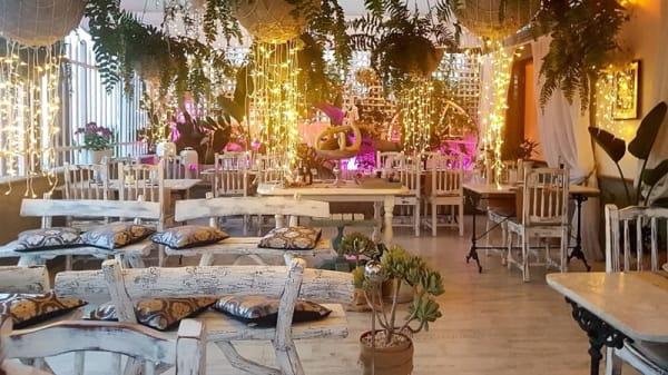 Sala del restaurante - La Guagua Blanca, Maspalomas