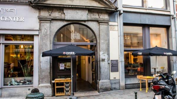 Devanture - Bellone Café, Brussels