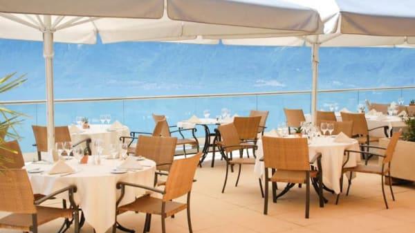 Terrasse - Le Patio - Le Mirador Hotel, Chardonne