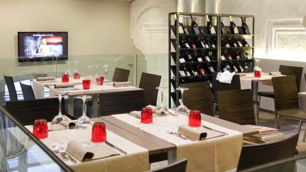 Sala del ristorante - Osteria Unico, Mestre