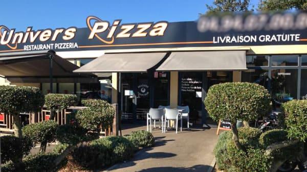 Devanture - Univers Pizza, La Seyne-sur-Mer