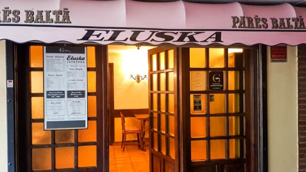 Entrada Restaurante Eluska - Restaurante-Sidreria Eluska-Jatetxea, Ibarra
