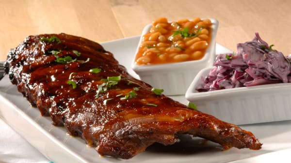 Crazy pork ribs - Tex'n Go, Antony