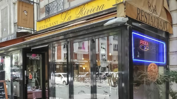 entrée - La Riviera, Paris