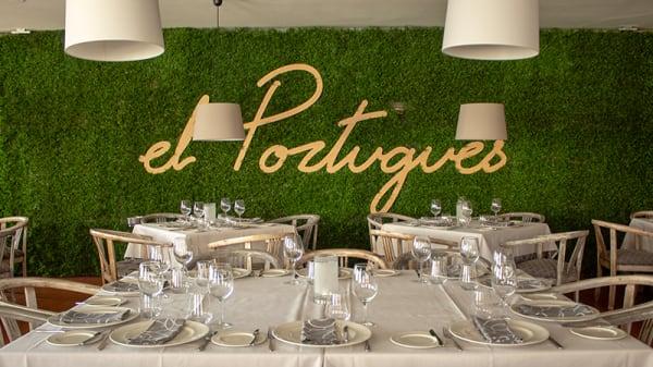 Sala del restaurante - El Português, Navacerrada