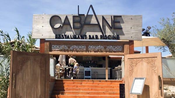 Devanture - La Cabane, Saint-Jean-de-Védas