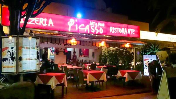 La terraza - Restaurante Pizzeria Picasso Art&Food, Arona