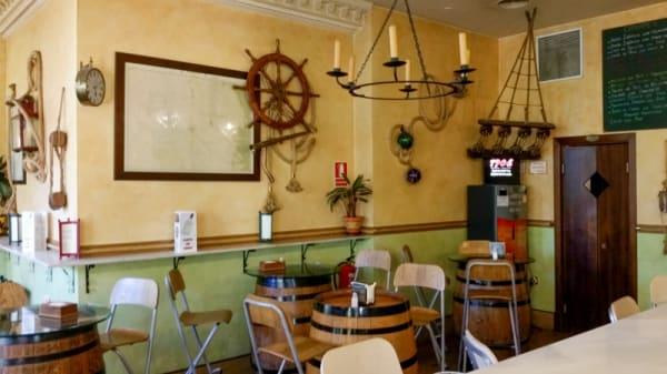 Detalle de la sala - La Canción del Pirata, Madrid