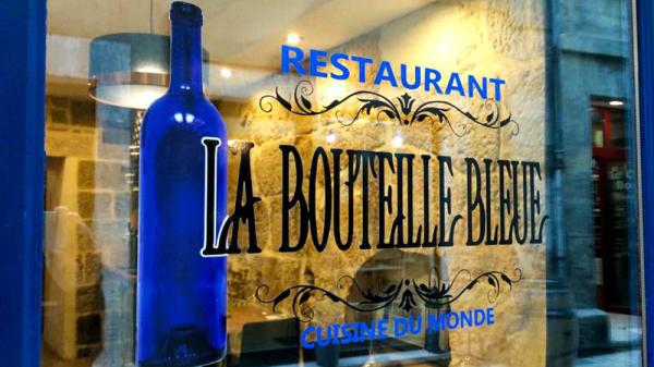 Entrée - La Bouteille Bleue, Périgueux