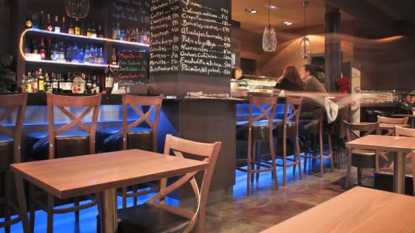 sala principal - Sentidos Lounge, Barcelona