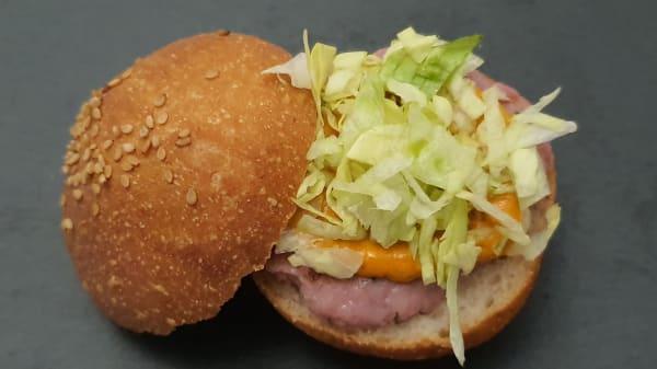 Burger para aperitivos - El cortijo sin gluten, Granada