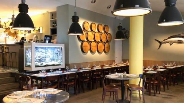sala do restaurante - Cervejaria Do Bairro, Lisboa