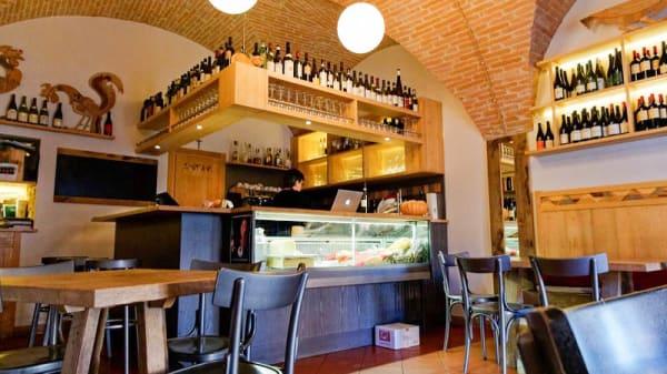 Vista sala - Vineria San Fortunato, Todi