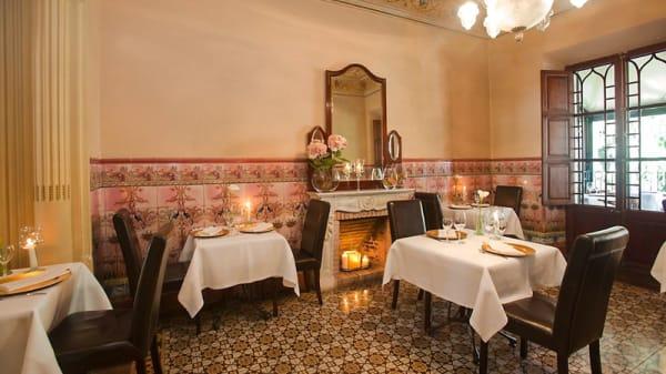 Sala del restaurante - La Vila, Soller, Islas Baleares