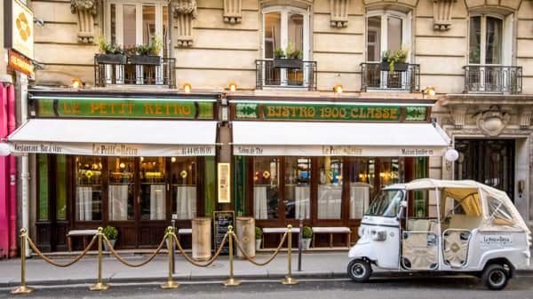 terrasse - Le Petit Rétro, Paris