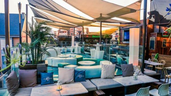 Vista terraza - TERRAZA SKYLINE LOUNGE, Madrid