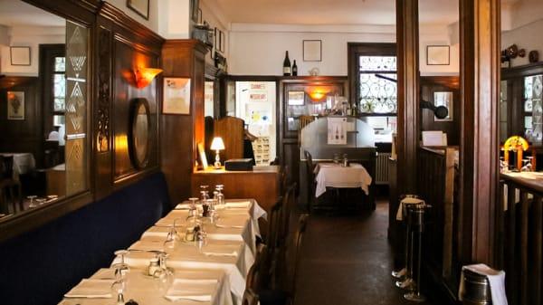 Salle du restaurant - Chaumette, Paris