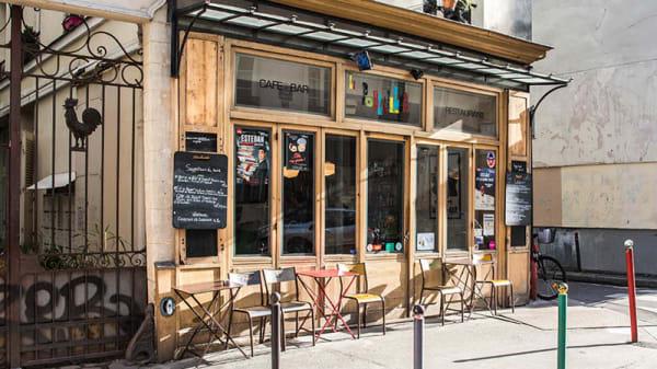 Le Poulailler - la façade - Le Poulailler, Paris