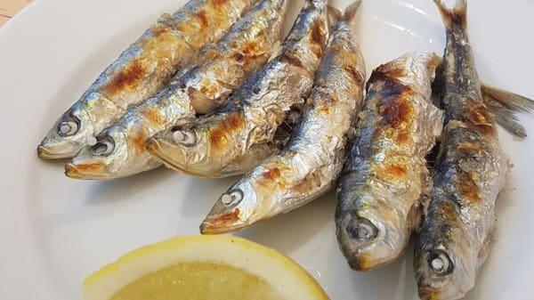 Sugerencia del chef - Chiringuito Moreno y Sol, Torrox