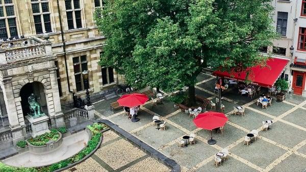 The most beautiful terrace of Antwerpen - BOHM en Berkel, Anvers