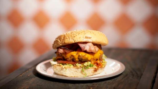 Bacon and Cheese Burger - Marcel Burger Bar Waterloo, Waterloo