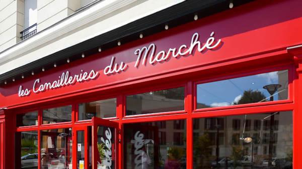 Devanture - Les Canailleries du Marché, Chaville