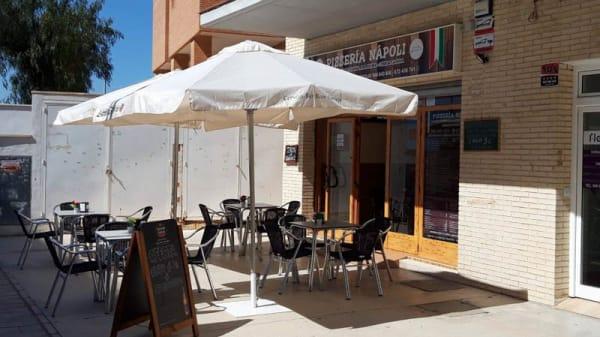 Terraza - Pizzeria Napoli, Alicante