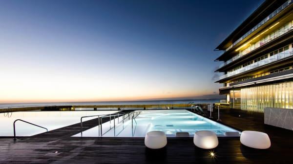 Vista piscina - Restaurante del Parador de Cádiz, Cádiz