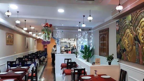 Vista de la sala - Taste of India, Madrid