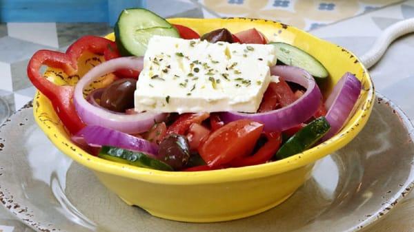 Sugerencia del chef - Grecia de Andrei (La Casa de Andrei Zona G), Bogotá