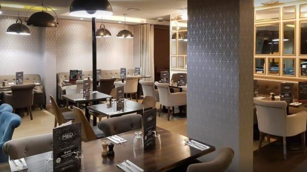 Vue de la salle - Med Restaurant, Bobigny