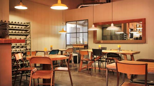 vista interior - Nice People, Bread & Burger, Barcelona