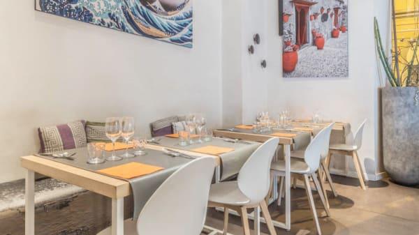 Vista della sala - Agorà Restaurant and Bar, Rome