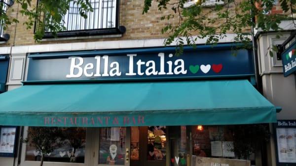 entry - Bella Italia - Uxbridge, Uxbridge