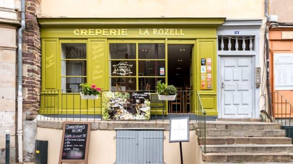Entrée - La Rozell, Rennes
