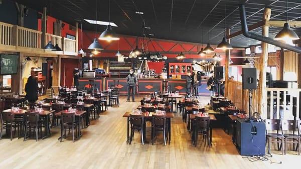 Vue de la salle - Le New Saloon, Rezé