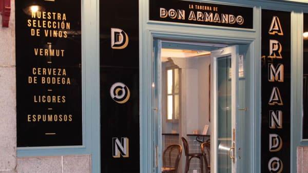 Entrada - La Taberna de Don Armando, Madrid