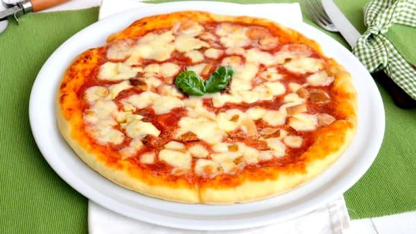 La pizza - La Rotonda, Rome
