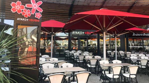 Terrasse - Ayako Sushi Pontet, Le Pontet