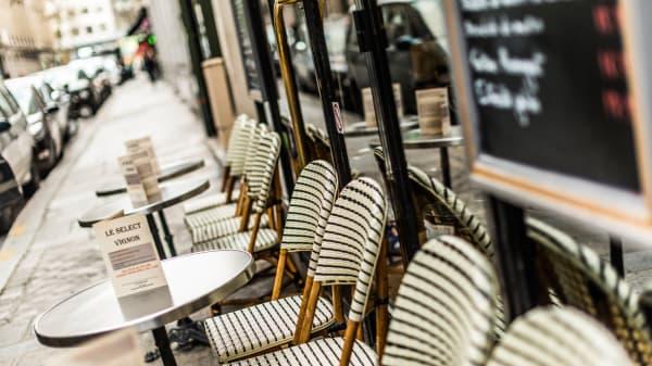 Terrasse - Le Select Vignon, Paris