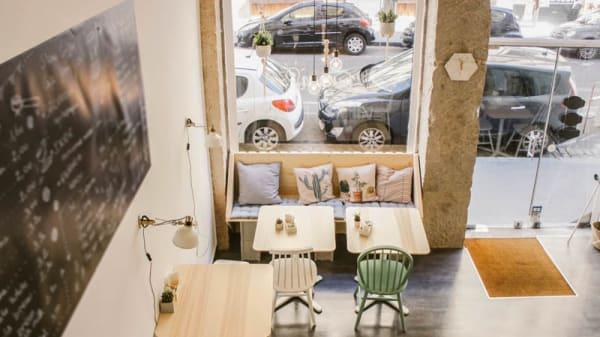 Vue de l'intérieur - Lumen Coffee, Lyon