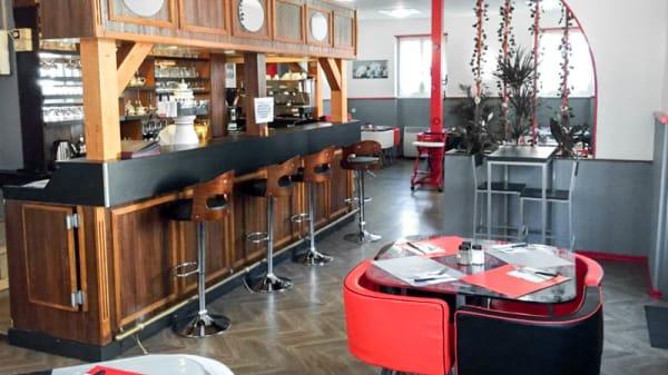 Vue de la salle - Restaurant le K, Mulhouse