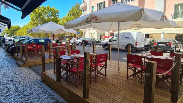 Esplanada - Restaurante Aqui ao Lado, Lisboa