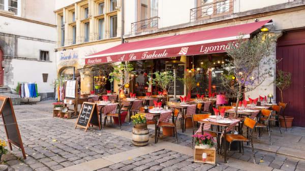 devanture - A La Traboule, Lyon