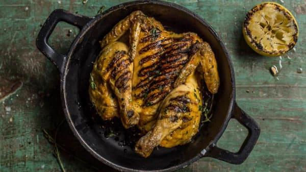 Spatchcock Chicken - Cast Iron Bar & Grill - Cheshunt Marriott Hotel, Broxbourne