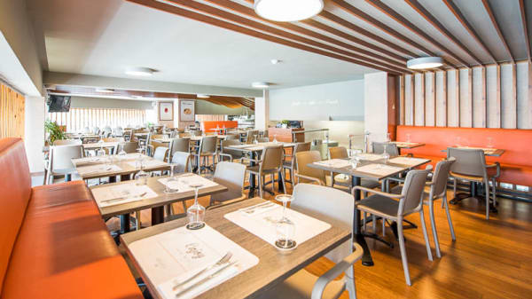 Sala do restaurante - Barcarola Costa Cabral, Porto