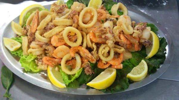 Gran frittura di mare - Del viale, Collegno