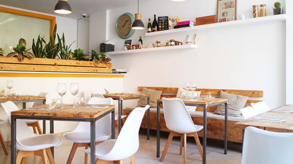 Vista sala - Makaria Artisan Pasta - LAB, Palma de Mallorca
