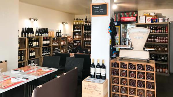 Petite salle cosy - Parma Pizz & Lasagnes, Aix-en-Provence