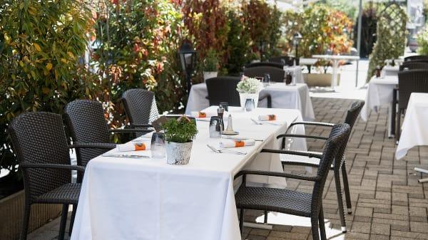 Terrasse - Café du Levant, Aire-la-Ville